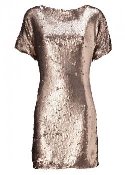 BlingBling-Silvester-Styling: Goldene Pailettenkleider…