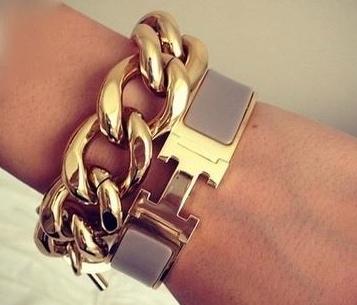 Mein Neuzugang im Schmuckkästchen: Hermes Clic Clac H Bracelet