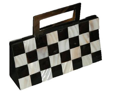 Tasche-Schachbrettmuster