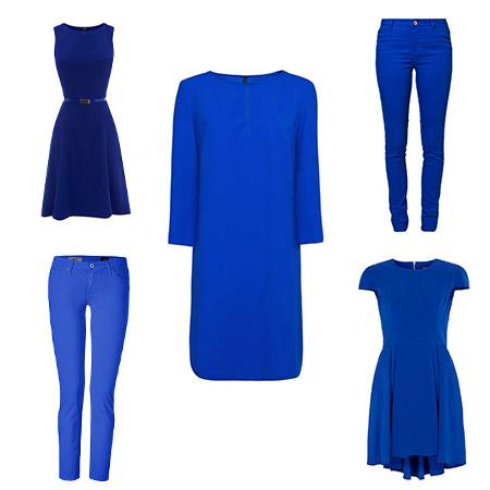 Chef, ich mach' heut blau – die Zweite: Kleider & Hosen in Ultramarinblau…