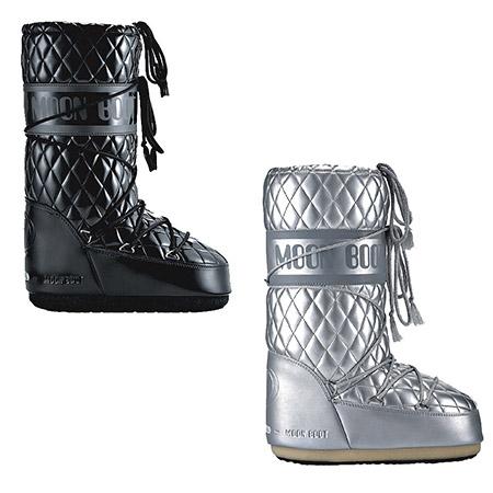 Moon-Boots-silber-schwarz