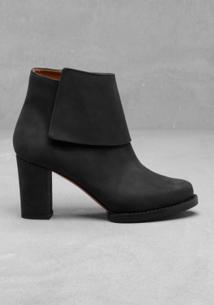 Stories-block-heel-boots-plain