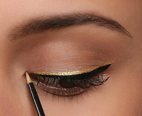 Eyeliner-Gold