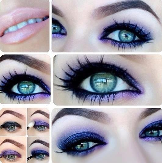 """""""Get the Look"""": Lila Lidschatten – der Sommer-Augen-Trend…"""