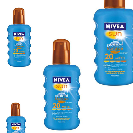 Kaufempfehlung: Nivea Sun Protect & Bronze Sonnenspray…