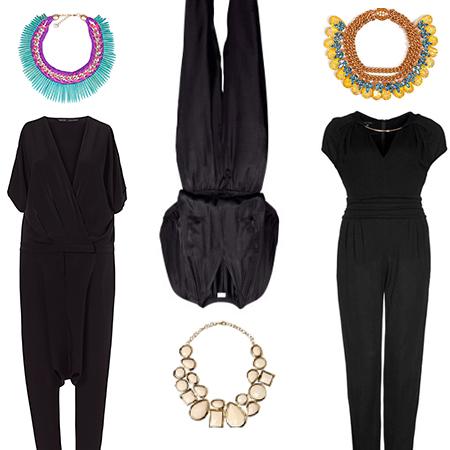 WOW!!! Der schwarze Jumpsuit für den Abend: Supereinfach & megalässig…