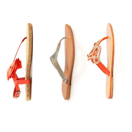 Zehen-Sandalen