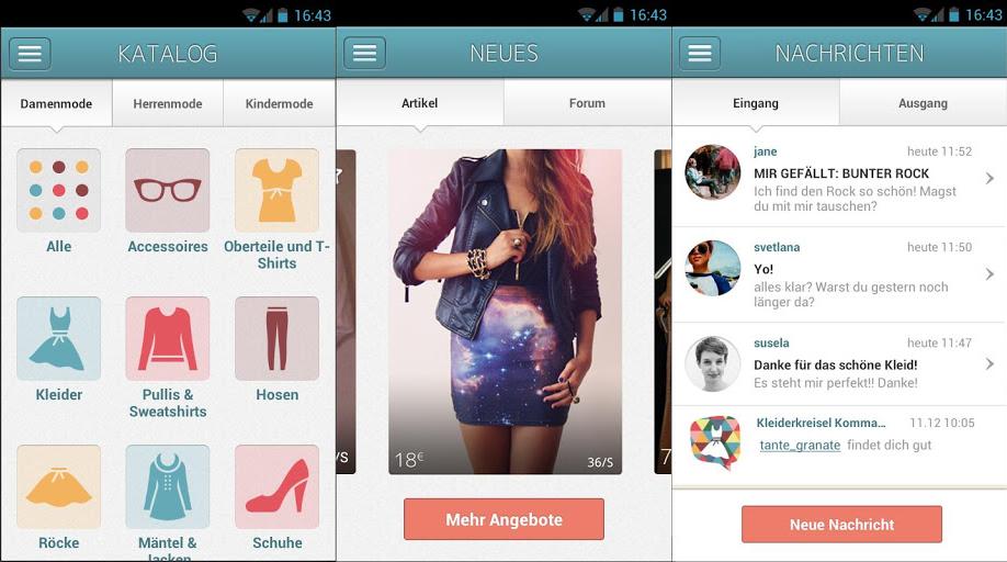 Kleiderkreisel-App