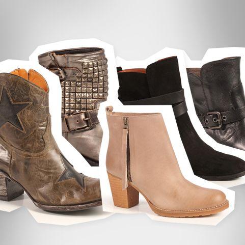 Unser 3×3 der heißesten Schuh-Trends für den Herbst-Winter: Boots, Boots und noch 'mal Boots…