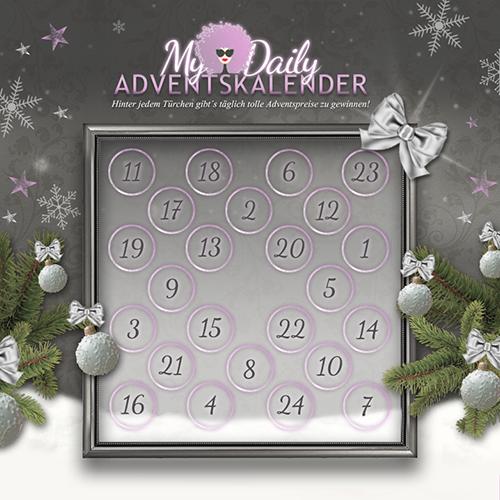 MyDailyAdventskalender: 24 Türchen mit 24 Geschenken für euch…