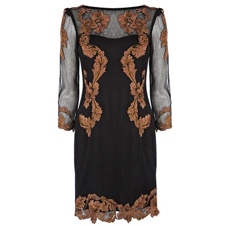 Karen-Millen-Weihnachten-Outfit-Kleid