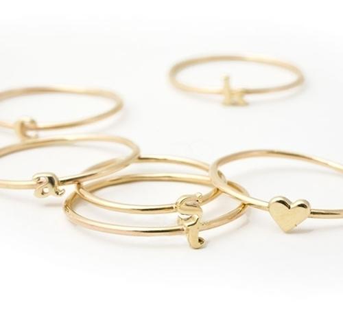 filigrane ringe gold