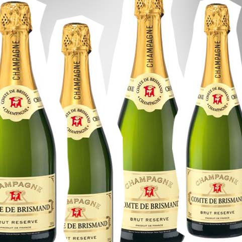 Getränketipp des Tages: Der Lidl-Champagner Comte de Brismand…