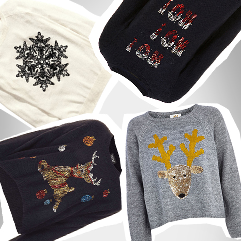 Countdown ChristmasGlamour: Pullis mit Xmas-Motiven – Top oder Flop?