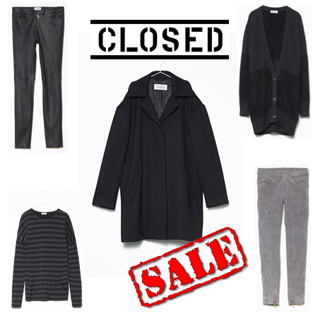 Sale-Picks aus den Onlineshops: Heute von lovely, lovely Closed…