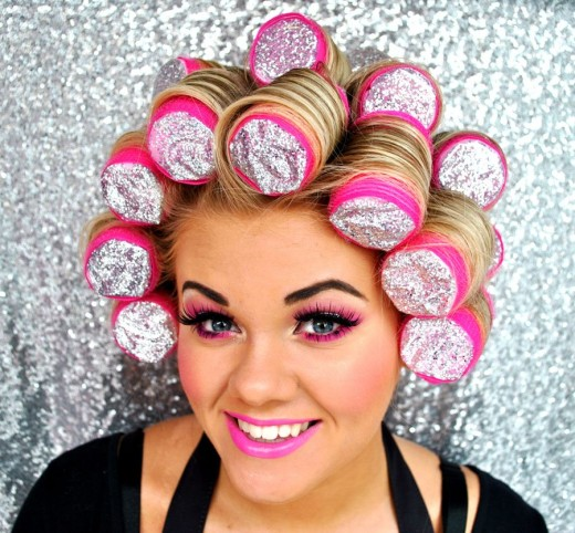 Sleep In Rollers // Goodbye sleepless nights – Hello great hair!!!