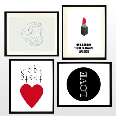 Valentine's Gift Guide // Unsere TOP 10 der schönsten Love-Prints…