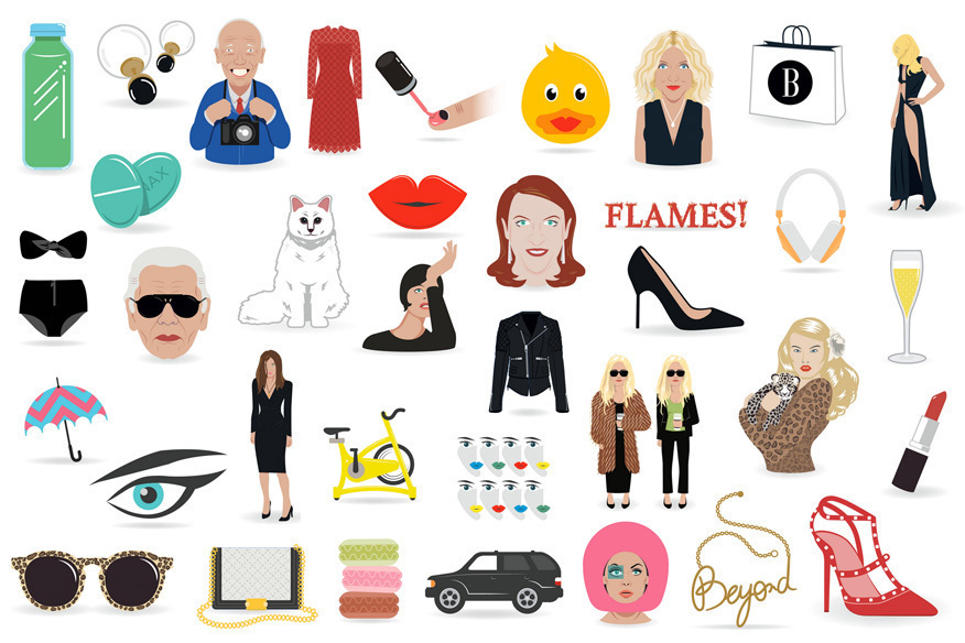 Fashion EMOJIS // Die neue Must-Have-App für Fashionistas…