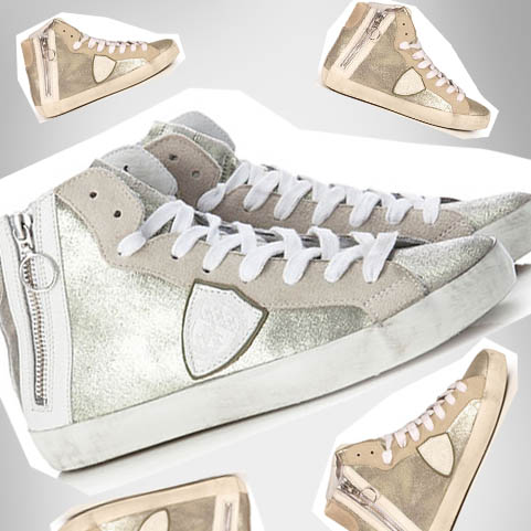 Philippe-Model-Sneaker-gold-silber-silver-trend