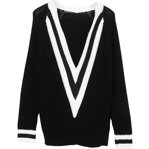 Rag-Bone-Talia-V-Neck-Tennis-Sweater-Black