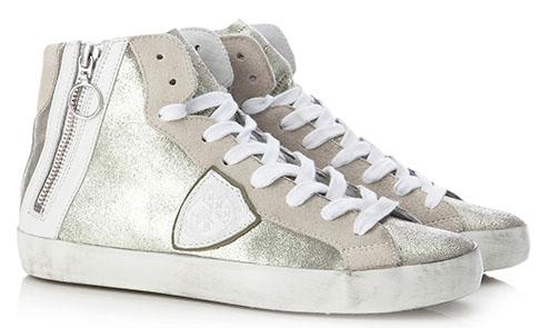 philippe-model-sneaker-silver