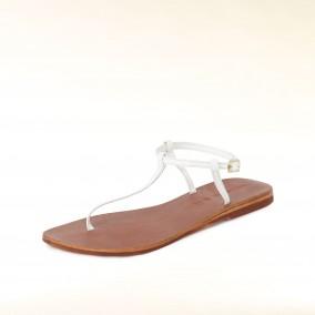 Hallhuber-Sandale-weiss