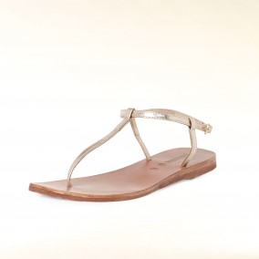 Hallhuber-sandale-gold