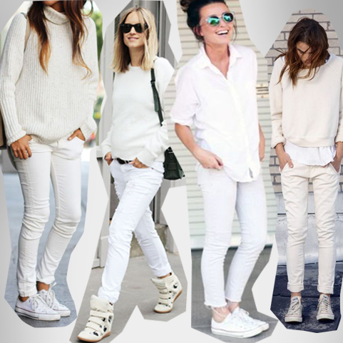 MyDailyTrendcharts // Der All-White-Look für den Sommer '14…