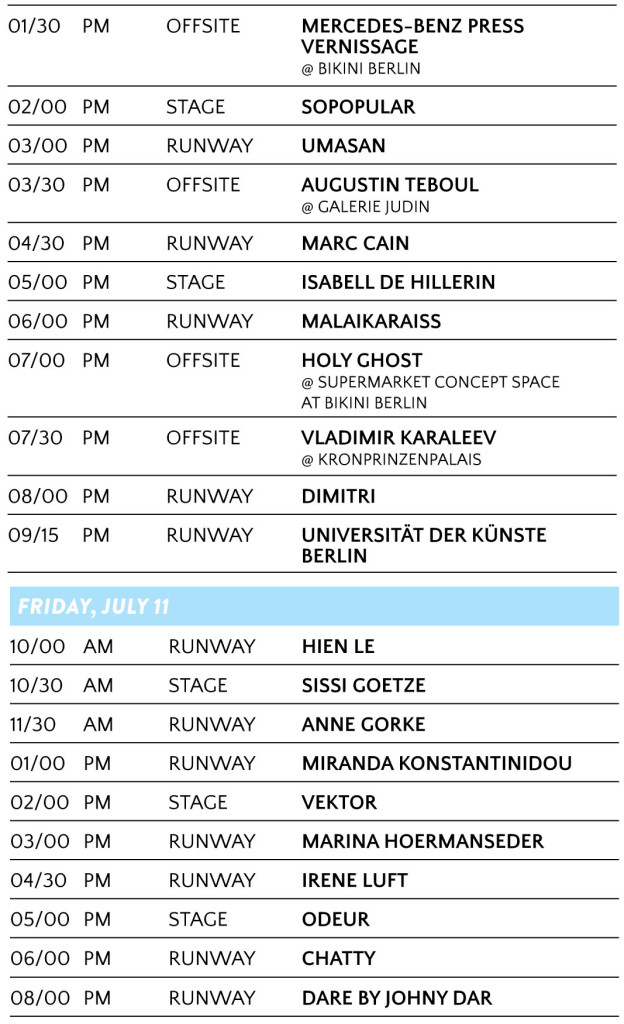 MBFWB_OFFICIAL SHOW SCHEDULE_SS2015_140607