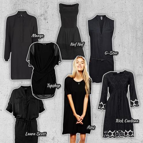 Das kleine Schwarze geht immer // Die schönsten Sommerkleider in Black…