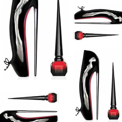 "Der perfekte rote Nagellack // Christian Louboutin launcht ""Louboutin Rouge""…"