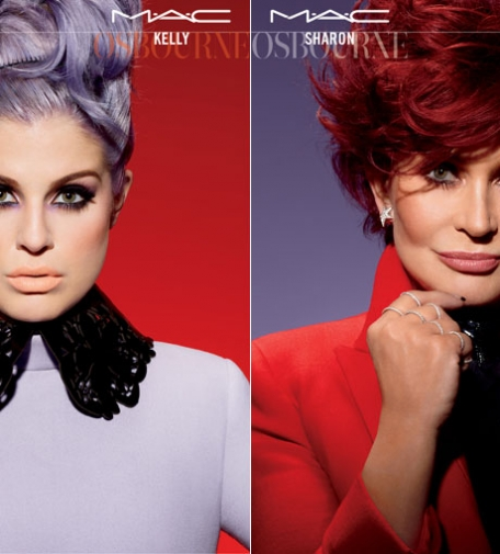 Rock'n'Roll // Kelly & Sharon Osbourne für MAC Cosmetics…