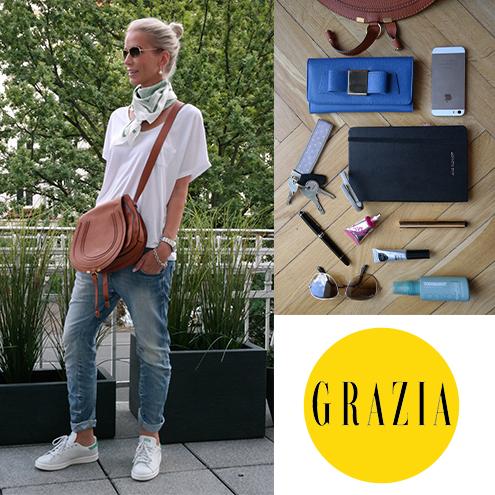 What's in your bag, Rieke? // Auf den Kopf gestellt für die GRAZIA…
