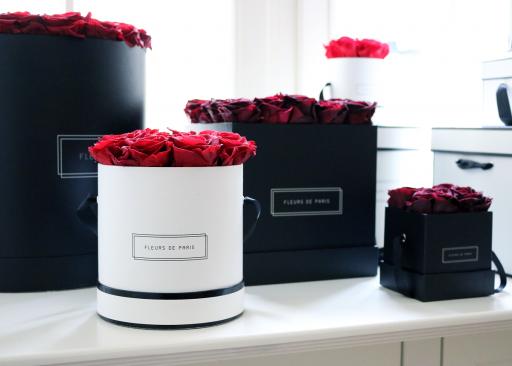 Fleurs de Paris haltbare Rosen
